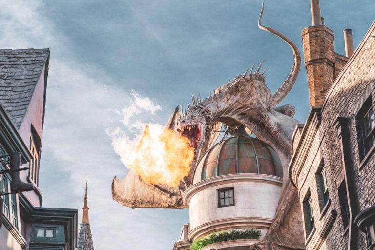 Fantasie wereld met draak | Voorleestips voor Vaders