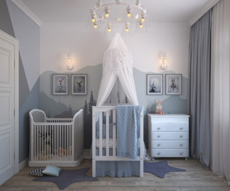 Babykamer geboortekaartjes